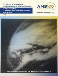 Book's front cover featuring black and white photograph of first satellite image of Earth.